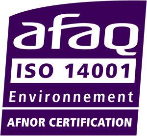 Peintures SOB est certifiée ISO 14001