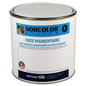 SOBCOLOR.O (Pates Pigmentaires phase aqueuse)