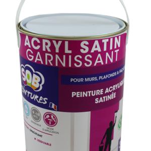 ACRYL SATIN GARNISSANT
